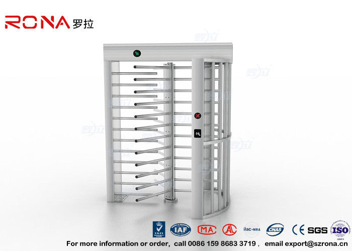 Durable Electronic Turnstiles Full Height , Stainless Steel Turnstiles 30 Persons / Minute