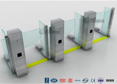 चीन Turnstyle Door Turnstile Access Control System Arm Swing Barrier Gates For Bank फैक्टरी